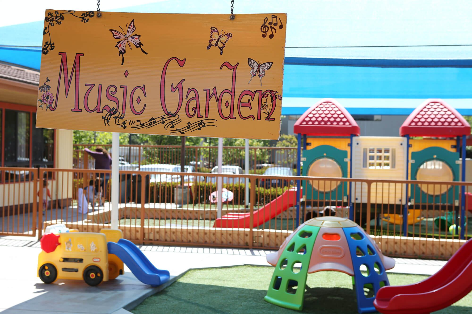 Kids Adventure Learning Center Outdoor-Music-slider